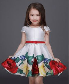 Cheap party dress girl, Buy Quality girls floral dress directly from China children party dress Suppliers: GEMTOT 2017 Princess Girls Floral Dresses Summer Baby girl Rose Flower Pattern Dress Kids Children Party dresses girls Vestidos Girls Party Dress, Birthday Dresses, Little Dresses, Little Girl Dresses, Baby Dress, Girls Dresses, Summer Dresses, Party Dresses, Dress Party