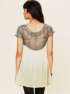 Embellished Palms Tunic