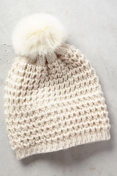 homeward pom pom beanie #anthrofave