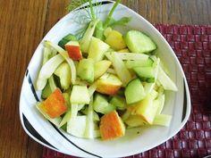 Fenchelsalat mit Apfel und Gurke, ein tolles Rezept aus der Kategorie Früchte. Bewertungen: 40. Durchschnitt: Ø 4,5.
