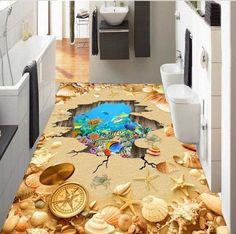 25+ 3D Flooring Inspirations For Bathroom