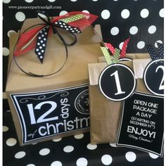 12 days of christmas gift ideas lds