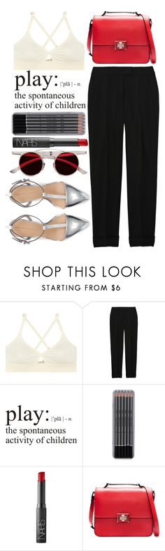 """IDGAF"" by miss-magali-mnms ❤ liked on Polyvore featuring Base Range, Alexander Wang, WALL, NARS Cosmetics and Zara"