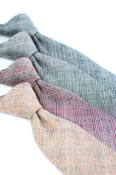 Tweed neckties with Price of Wales check - $24.90 at Bows-N-Ties. View the collection by clicking on the photo.