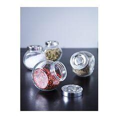 Clearly, because I need all my spice jars need to match.  RAJTAN Spice jar - IKEA