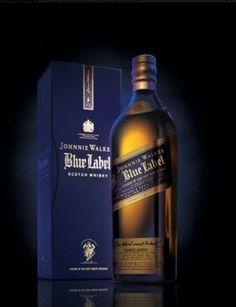 Johnnie Walker Blue Label #Scotch, $265.00