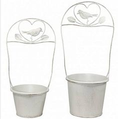 Kovový obal na květináč s ptáčkem Sugar Bowl, Bowl Set, Canning, Home Canning, Conservation