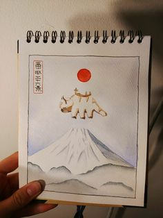 I did a little watercolor of Appa from Avatar the Last Airbender! : Watercolor Post with 0 votes and 5199 views. I did a little watercolor of Appa from Avatar the Last Airbender! Avatar Airbender, Avatar Aang, Team Avatar, Avatar Tattoo, Zuko, Art Inspo, Painting & Drawing, Watercolor Art, Art Projects