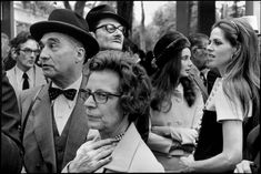 Henri Cartier-Bresson - Paris. 1968. Longchamp Racecourse. The annual Prix de l'Arc de Triomphe.