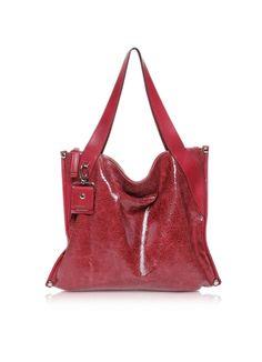 Francesco Biasia Lovers Leather Shopping Bag
