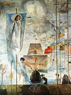 Dali - Discovery of America by Christopher Columbus.