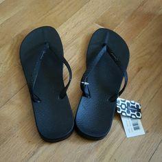 New with tags black flip flop Black flip flop ipanema Shoes Sandals
