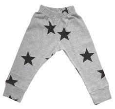 NUNUNU - Star Leggings in Grey - Shorts & Bottoms - Boys