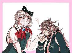 Danganronpa Game, Danganronpa Characters, Cute Patterns Wallpaper, Princess Peach, Fandoms, Lesbians, Angels, Anime, Kpop