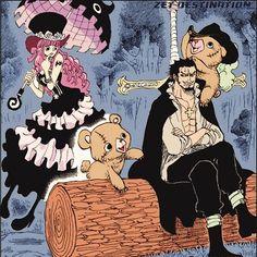 Dracule Mihawk Hawkeye Gnost Princess Perona One Piece