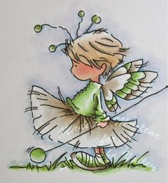 Fairy in Sneakers...looks a little like Ethyl at an early age.