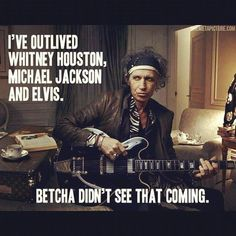Happy Birthday Keith Richards, a true blooded Rock n Roller ...