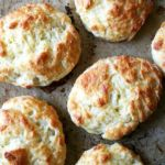 Tender and flaky, these cheddar buttermilk biscuits are the perfect vessel for housing slices of ham or turkey or roast beef, handfuls of arugula, and a slathering of mustard sauce, a must-have recipe if you're making ham this holiday season. Scones, Biscuits Au Cheddar, Buttermilk Biscuits, Queso Cheddar, Cheese Biscuits, Cheese Bread, Cheddar Cheese, Good Food, Yummy Food