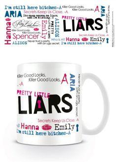 Pretty Little Liars - Montage - Ceramic Coffee Mug