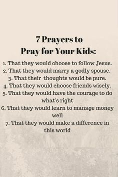 We should always pray that our kids be holy, that they should know, love, and serve God in all areas of their lives-- and not that they should live up to our expectations. Prayer For My Children, Prayers For Kids, A Childs Prayer, Prayers For Baby Boy, Moms In Prayer, Prayer For Daughter, Praying For A Baby, Loving Your Children Quotes, Love Quotes For Kids