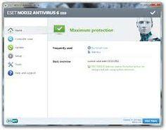 ESET Nod32 Antivirus 6 full version