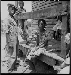 Mississippi Delta Negro children, July 1936 photo 8b29649v.jpg #GreatDepression #DeepSouth c. Libriary of Congress