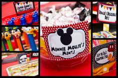 "Photo 1 of 14: Mickey Mouse / Birthday ""Meeska Mouska Mickey Mouse Fun! Drew Turns ONE!"" 