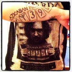 Harry Potter tattoo. Azkaban prison. :)