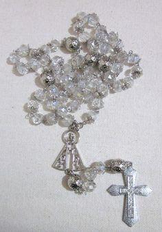 5d44f8390d7d8 35 melhores imagens de Terços de Cristal e Noivas   Brides ...