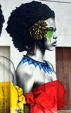 Fin DAC street art