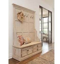 Wooden Storage Bench | REstyleSOURCE