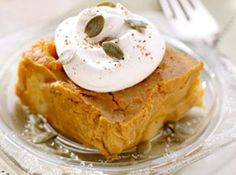 Spiced Pumpkin Bread Pudding
