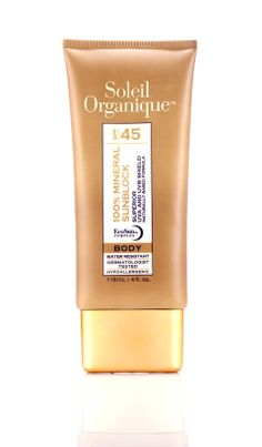 Soleil Organique | 100% Mineral Sunscreen for Body SPF 45