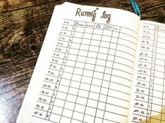 """5 To se mi líbí, 1 komentářů – BuJo Kate (@bujo_kate_a6) na Instagramu: """"How I messed up my running log for december. I have a goal to run 100 kilometers in december. Would…"""""""