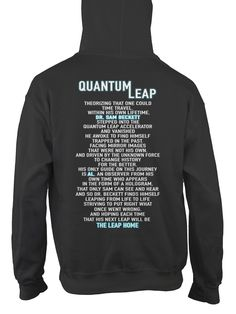 Quantum Leap | TeeChip I want this so bad!