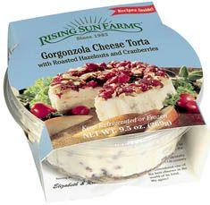 my favorite! rising sun farms gorgonzola chhese torta. best price at trader joe's.