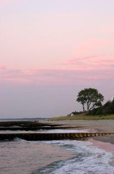 Abendstimmung am Strand von Ahrenshoop (c) M.Sorge