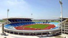 My Dinh Stadium formal operations September 2, 2003 with the first match between U23 Vietnam team with Chinese club Shanghai Body (Shanghai Shenhua) (China). http://hanoicity.blogspot.com/2013/07/my-dinh-stadium_9.html