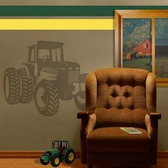 Tractor Wall Decal