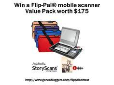 Win a Flip-Pal® mobile scanner Value Pack worth $175