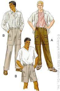 zip off pants pattern