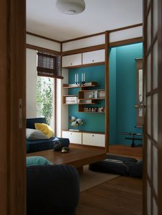 """Picture from """"Nihon no Kanji"""" - project by interiordelight. A Japanese inspired home Nihon, Inspired Homes, Entryway, Layout, Japanese, Living Room, Interior Design, Projects, Inspiration"""