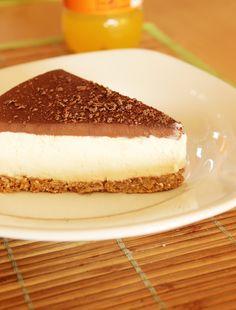 entremet-bavarois-choco-vanille-coco-5 Layered Deserts, Brookies, Cake & Co, Sweets Cake, Food Categories, Tiramisu, Biscuits, Cheesecake, Brunch