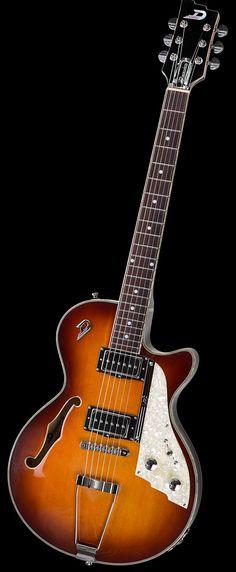 Duesenberg Guitars Hollow TV Series Vintage Burst