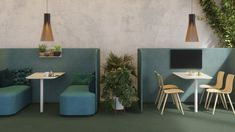 Calming hues of green in the NEW PodMeeting Cove setting perfect for activity based offices. Fitout your office space with this stunning NEW design by Martela. Office Furniture, Home Furniture, Outdoor Furniture Sets, Outdoor Decor, Office Fit Out, Space Dividers, Conference Table, Coven, Office Interiors