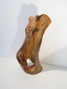 Eric Hanan (Female Figure - wood) #buckheadartsfestival2014