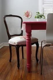 Juego de sillas antiguas restauradas, tapizado blanco | CHAIRS ...