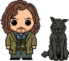 Embroidery : Harry Potter: Sirius Black cross stitch pattern