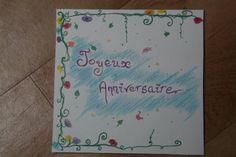 Joyeux anniversaire - Fleurs - Carte - Card - https://www.facebook.com/pages/Mona-Lisa-B%C3%A9n%C3%A9dicte-Cantele/186737541497446