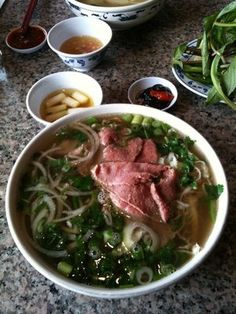 The absolute best beef Pho in town  I also really dig their fish cakes appetizer.  2518 NE 82nd Ave  Portland, OR 97220